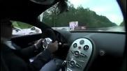 Нисана отвръща на удара. Bugatti Veyron vs. Nissan Gt - R