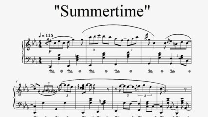 """""""Summertime"""" - G. Gershwin (Arr. The Pianos of Cha'n)"""