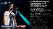 Aca Lukas - Bolje biti pijan nego star (Audio - Live )