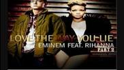 New! Eminem ft. Rihanna - Love the way you lie ( 2 part ) + bg subs