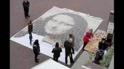 Нарисуваха Мона Лиза с 3604 чаши кафе