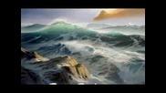 Живопис с маслени бои Техника - пяна, морски пейзажи