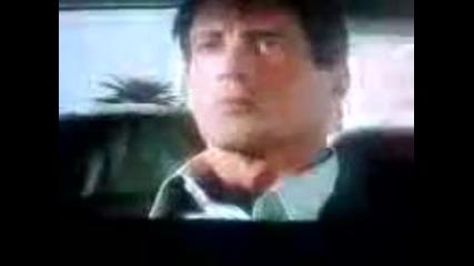 Яката кратка роля на звездата Силвестър Сталоун във филма Такси 3 (2003)