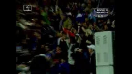 Levski Sofia - Dinamo Bucuresti 1 - 0
