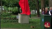 Кученцето бе пронизано от желязна статуя - Скрита Камера