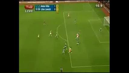Aston Villa - Litex 1:1 Uefa Cup 2.10.08