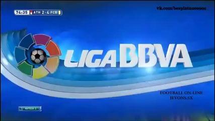 Атлетик Билбао - Барселона 2:5 - (la Liga) 8.02.2015