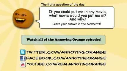 Annoying orange wazaaaaaa