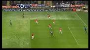 Нюкасъл 1 - 0 Манчестър Юнайтед - Lovenkrands