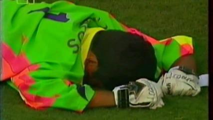 Футбол Мексико - България 1994 - Продължения - Част 4/4 (високо качество)