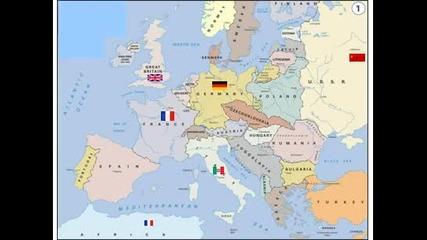 Как държавите променят териториите си през Втората Световна Война