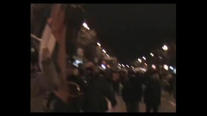 Протест срещу високите сметки за ток - Варна - 15.02.2013 година