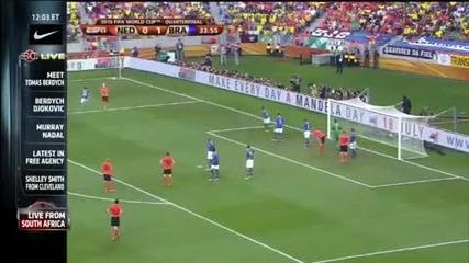 World Cup Холандия*уби* Бразилия 2 - 1