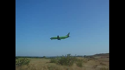 S7 Airlines B737 @ Varna Airport
