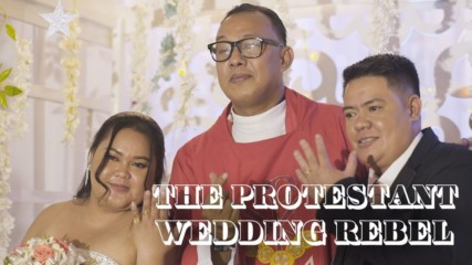 The reverend performing illegal same sex weddings