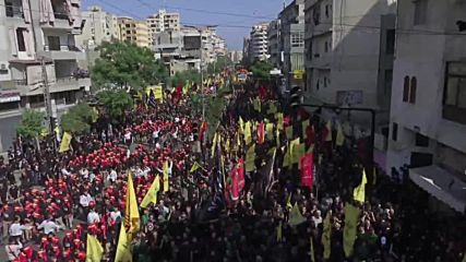 Lebanon: Thousands hit the streets of Beirut to commemorate Ashura