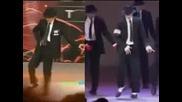 Сравнение между Майкъл Джексън и малко момче