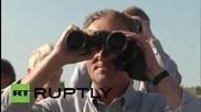 Georgia: Donald Tusk visits South Ossetian border alongside EUMM