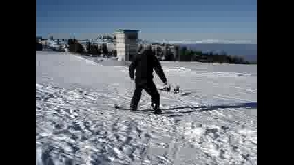 skok snowboard 360 bezbog