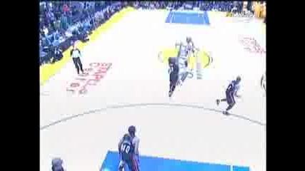 Kobe Bryan 3 point buzzer beater vs. Miami