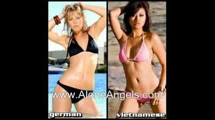 European Girls vs Asian Girls