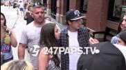 Найл от One Direction и Аштън от 5sos в Ню Йорк на 3-ти август