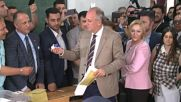 Turkey: Opposition leader Ince casts ballot in hometown Yalova