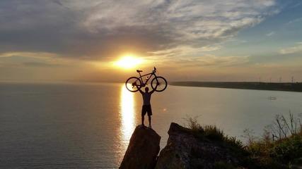 9 част Обиколка на България с колело 2014 - красотата на северното черноморие.