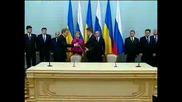 Русия и Украйна се споразумяха за газа