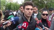 Антиромски протест: Хора без основно образование да не гласуват