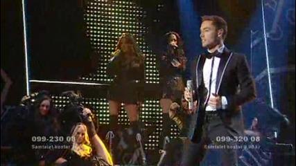 Mans Zelmerlow - Hope & Glory Melodifestivalen 2009