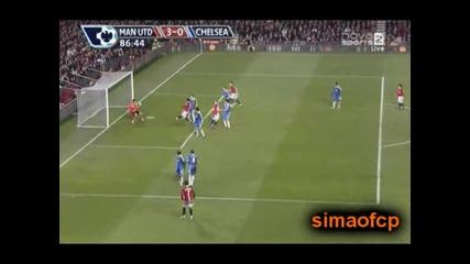 11.01 Манчестър Юнайтед - Челси 3:0 Димитър Бербатов гол