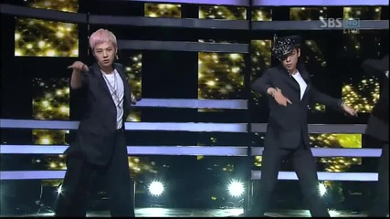 Bigbang - Love Song [live performance on S B S Inkigayo][високо качество]