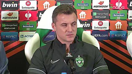 Генчев: С помощта на нашите фенове се надявам да вземем победата