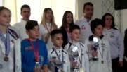 Успешен месец май за българското таекуондо
