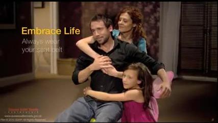 Прегърни живота - винаги носете колан!!!