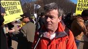 USA: 'Close Guantanamo' - Protests hit the White House, Washington D.C.