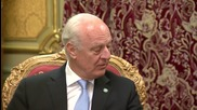 Russia: Moscow 'instrumental' in push for political solution in Syria - UN's de Mistura