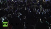Germany: Tensions high as police block thousands at Cologne train station