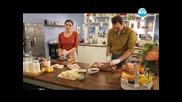 Шоколадов чийзкейк, печена супа с домати, отворена лазаня - Бон Апети(09.02.2013)