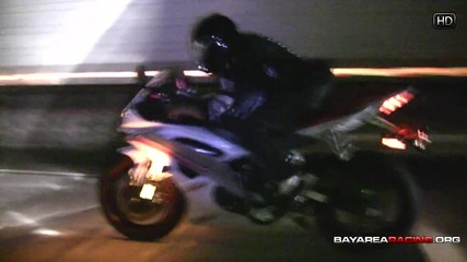 C6 Z06 vs Yamaha R6 (hd)