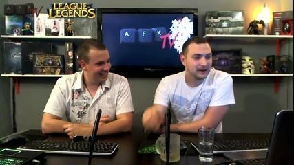 Интервю със Savage Soul (league of Legends) - Afk Tv Еп. 20 част 2