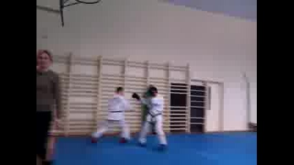 Taekwon-do Itf Sparring