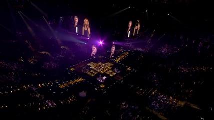 Превод* Celine Dion and Andrea Bocelli - The Prayer [live In Boston]