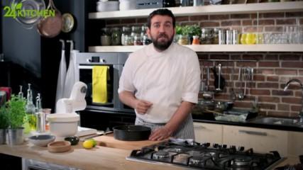 Модерна турска кухня с Максут | Бадемови курабии