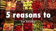 Muscle Damage - 5 признака, че се храним здравословно