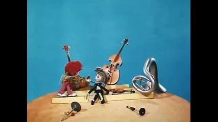 Руска анимация. Незнайка. Ф.2 Незнайка - музыкант