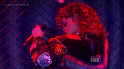 Rihanna - We Found Love Live @ X Factor Usa
