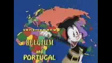Animaniacs: Държавите По Света