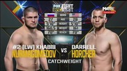 Ufc on Fox 19: Khabib Nurmagomedov vs Darrell Horcher